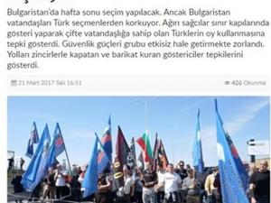 Турски медии нападнаха България заради реакциите към турските избиратели