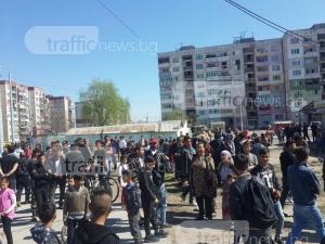 Свидетели на екшъна в Столипиново: Полицаите първи ни нападнаха ВИДЕО+СНИМКИ
