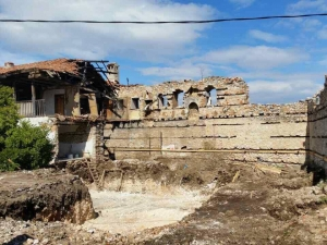 7 години след големия пожар! Възстановяват Мулдавския манастир СНИМКИ