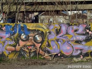 Нови графити се появиха на Сточна гара СНИМКИ