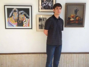 Млад пловдивчанин показва впечатляващи платна в Бялата къща