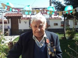 Дядо от Пловдивско доживя до 104 години, хапвайки лимони и месо