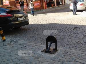 В центъра на Пловдив – за поршета няма закони!