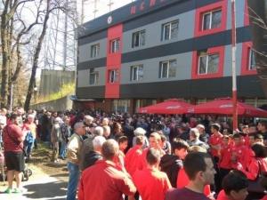 Напрежение и освирквания на търга за емблемата на ЦСКА ВИДЕО
