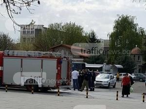 Паника в Смирненски! Хора бягат заради запалена газова бутилка СНИМКИ