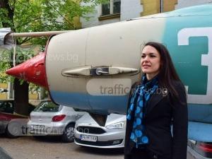 Студентката, която превзема небето над Пловдив, мечтае да управлява Боинг ВИДЕО