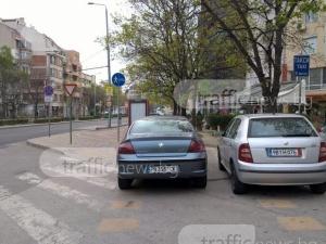 Когато само един наглец не стига да пречи на колоездачите в Пловдив СНИМКИ