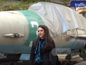 Студентката пилот с книжка за 16 категории е гордостта на ТУ-Пловдив (Обзор на деня)