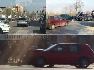 Караме като луди в Пловдив! Високата скорост причина за бума на катастрофите ВИДЕО