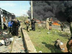 Над 100 души загинаха при евакуация в Сирия