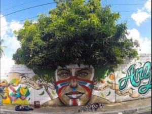 Когато уличното изкуството се срещне с природата СНИМКИ