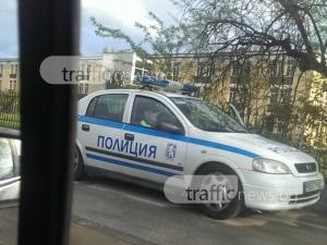 Патрулка в Пловдив дебне за нарушители… на пешеходна пътека СНИМКА
