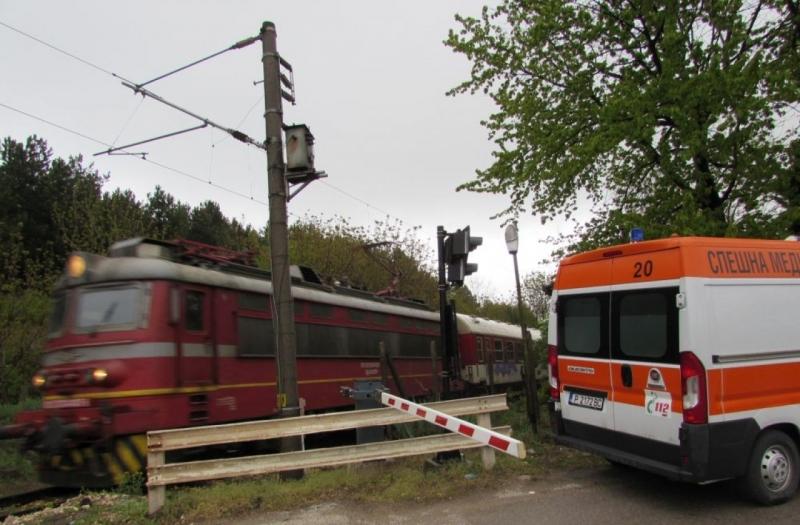 Пътническият влак не е причинил смъртта на възрастния мъж край Русе СНИМКИ