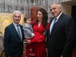 Волен Сидеров вдигна купон за рождения си ден, посрещна Борисов и Цветанов СНИМКИ