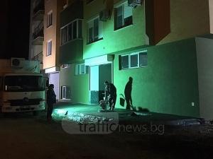 """Пловдивчанка извика полиция заради """"работохолици"""" на строеж в Тракия СНИМКИ"""