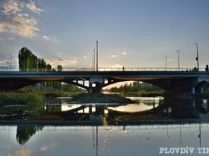 Под мостовете на река Марица - спокойно и красиво СНИМКИ