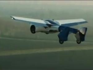Показаха първата летяща кола ВИДЕО
