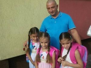 Тези три ангелчета останаха без баща, нека им помогнем СНИМКИ