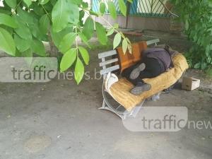 Бездомникът Рихчо, който е човек на обществото, но живее извън него СНИМКИ