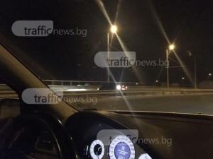 Ново меле край Пловдив с една жертва заради шофьор в насрещното без фарове*