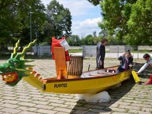 Драконовите лодки са в Пловдив! Потеглят по Гребния канал СНИМКИ