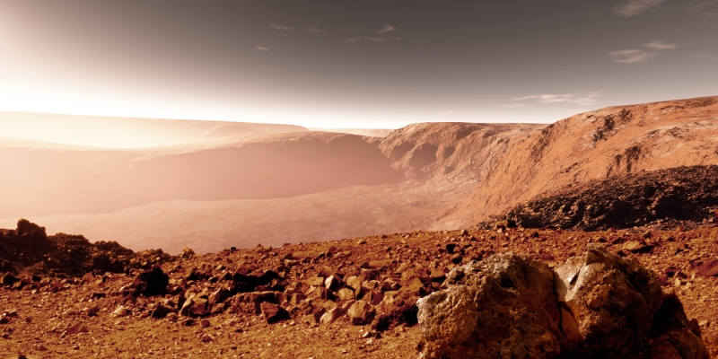 Преди да покорим Марс – ето какви опасности дебнат хората на червената планета