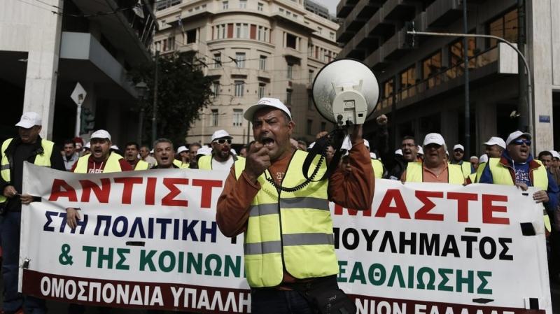 24-часова стачка блокира цяла Гърция