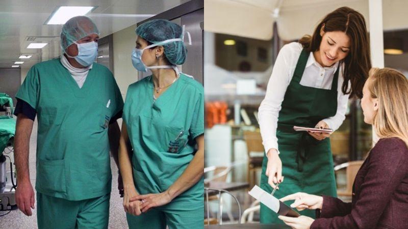 Лекар vs Сервитьор в Пловдив: Двойно по-голяма заплата, ако носиш табла, а не бяла манта СНИМКА