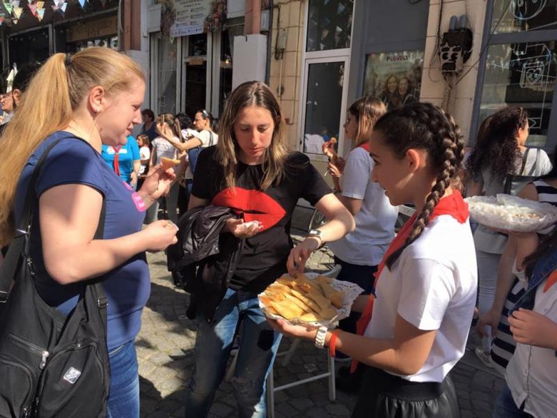 Арменците спечелиха приз за най-добра етно кухня в Пловдив СНИМКИ