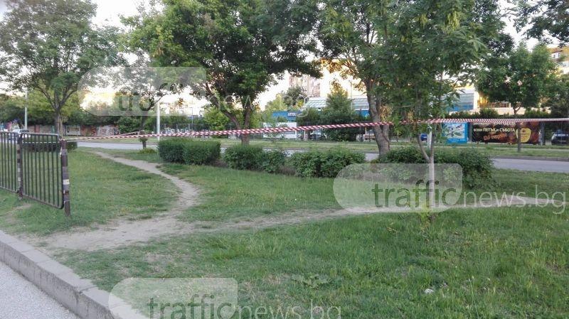 Мъж се обеси в средата на кръстовище в Пловдив СНИМКА