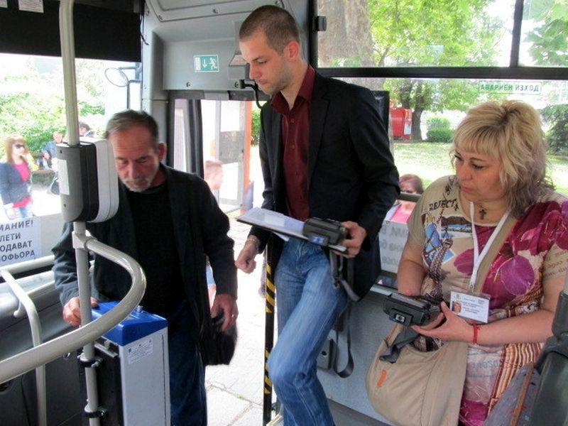 Продължават тестовете на системата за електронно таксуване в Пловдив СНИМКИ