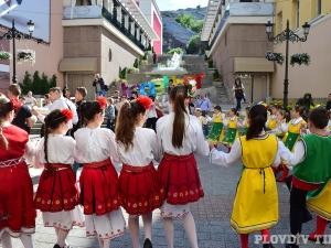 Хоро превзе Пловдив за Панаира на занаятите СНИМКИ