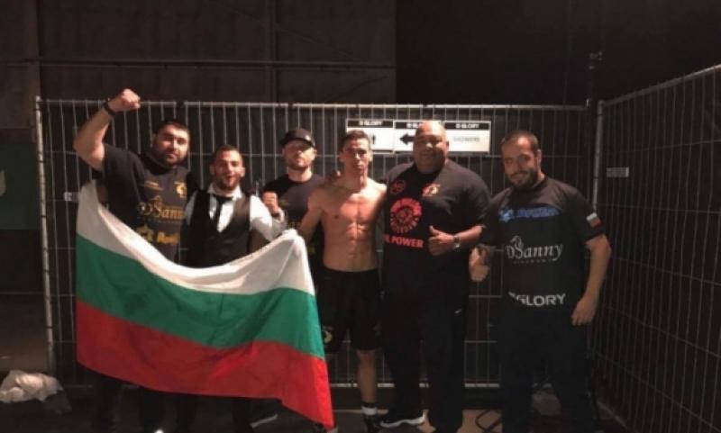 Българин с историческа победа в кикбокса ВИДЕО