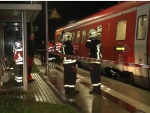 Влак дерайлира в Германия, седем души са ранени ВИДЕО