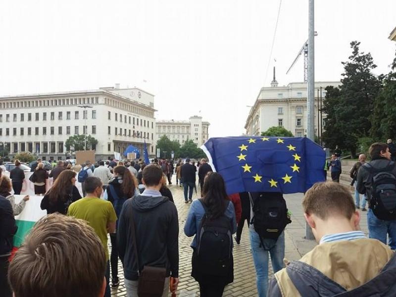Когато съдебната система не работи, държавата става опасна! Какво се случи на протеста в София