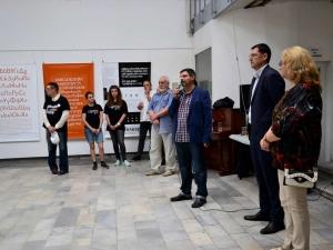Изложба, посветена на кирилицата, откриха в Дома на културата в Пловдив СНИМКИ