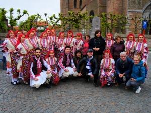 Ансамбълът на МУ-Пловдив с впечатляващо участие на фестивал в Белгия СНИМКИ