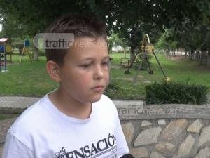 Разказът на момчето, нахапано от питбул край Пловдив ВИДЕО