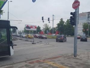 Катастрофа на Цариградско, няма пострадали