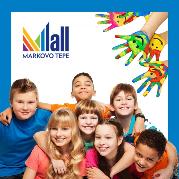 На 1 юни Мол Марково Тепе ще зарадва всички деца с много забавления, изненади и подаръци