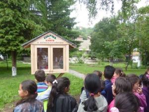 Къщичка за книги се появи в Перущица