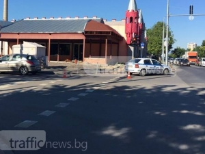 Шофьорка отнесе колоездачка до Лаута СНИМКИ