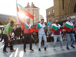 Българи направиха зашеметяващ флашмоб на гара в Лондон СНИМКИ+ВИДЕО