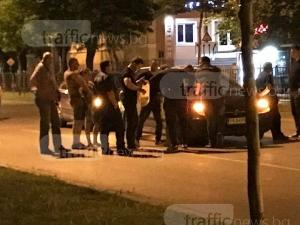 Задържаха още един до моста на Герджика, полицаите станаха повече СНИМКИ