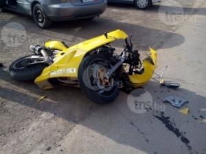 Пиян моторист пострада при катастрофа в Асеновград