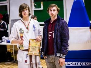 Преслав и Ноел - вкъщи се посбивали, но станаха шампиони по карате