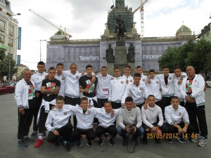 Футболистите на Електротехникума за втори път прославиха България СНИМКИ