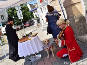 Моцарт и кучето му посрещнаха пловдивчани в новия модерен туристически център СНИМКИ