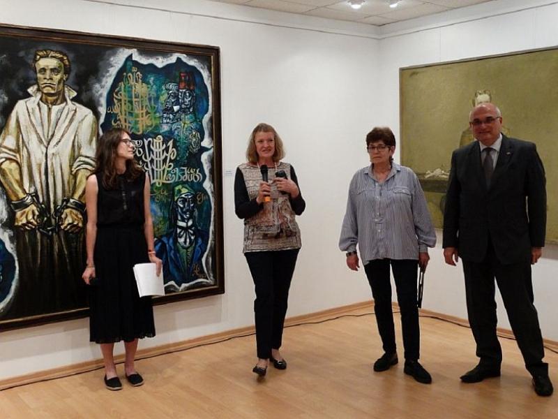 Пловдивски художници представят портрети на Левски във Варшава СНИМКИ