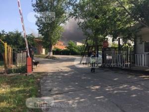 Хората от Шишманци на бунт заради обгазяване след пожара